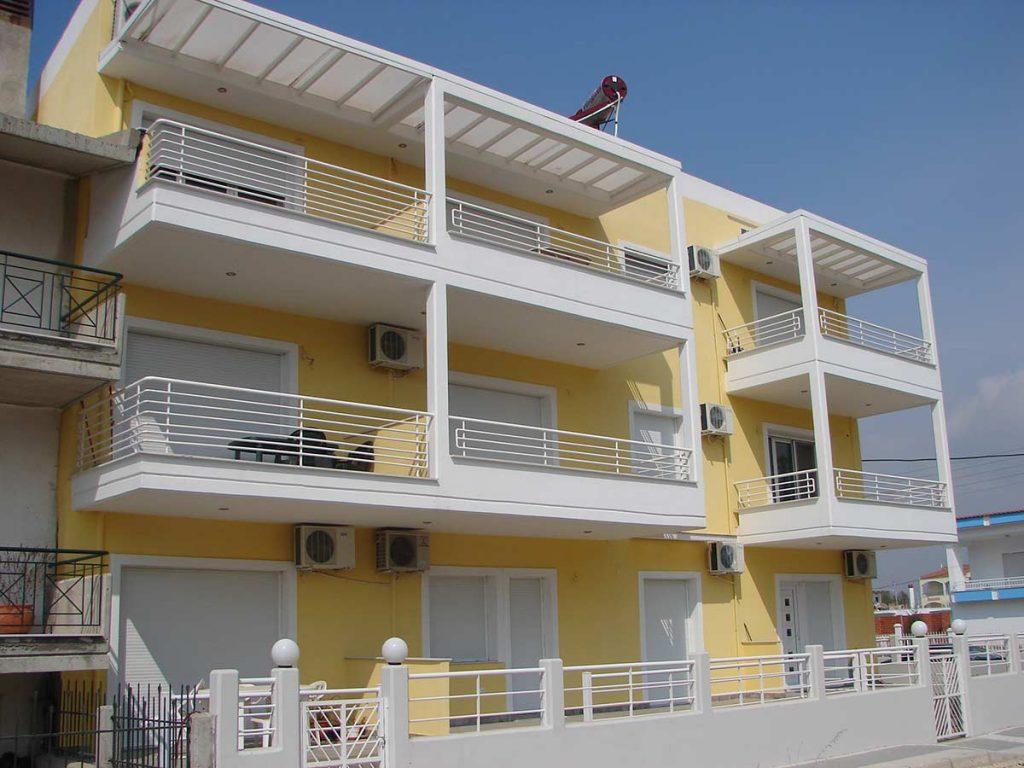 Apartment buildings in Keramoti