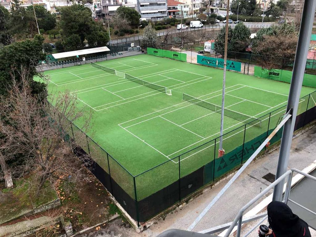 Maintenance of sports facilities in Kavala