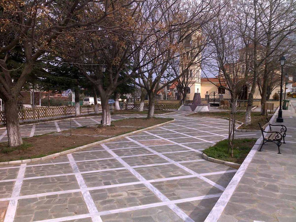 Parks - squares