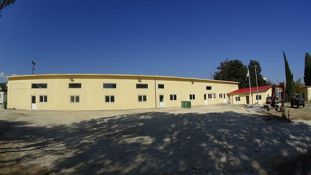 Immigrants hosting center in Kavala